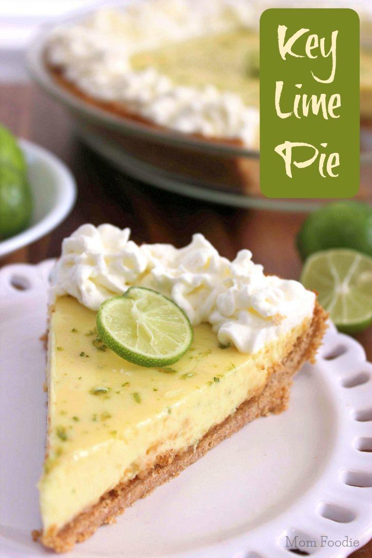 Key Lemon Pie - Mother's Day Dessert Recipes