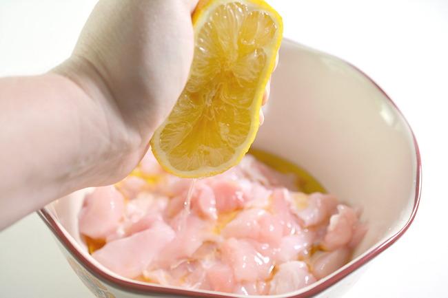 lemon juice for chicken marinade
