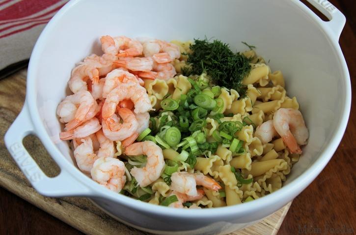 shrimp pasta salad ingredients