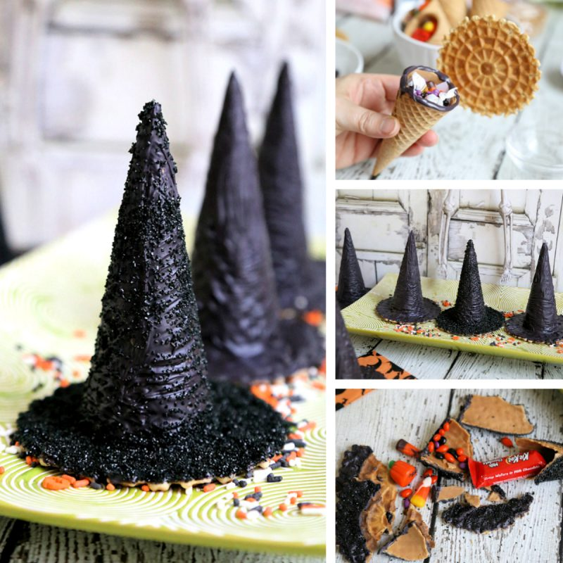 Surprise Inside Edible Halloween Witch Hats