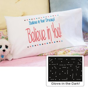Glow in the dark pillow case by Comfy Cozy, inc.