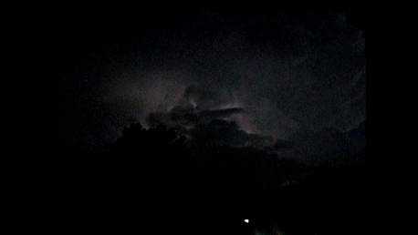Lightening Storm over Montgomery County, Texas