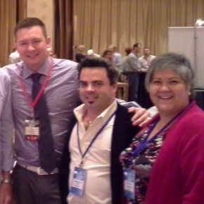 Phil Robbins, Ben Fitts, Kandas Nesbitt-Rodarte at MLM Mastermind 8