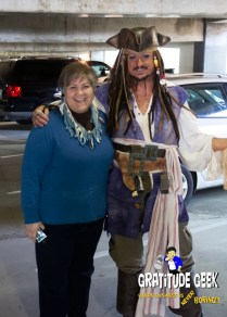 Vincent Smith as Captain Jack Sparrow