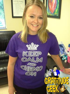 Keep Calm and Chemo On with Nurse Kim