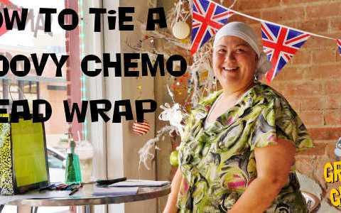 Chemo Head Wrap Instructions | Battling Bertha 12 | #blogboost