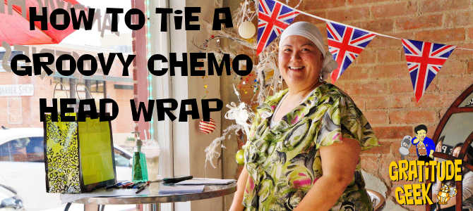Chemo Head Wrap Instructions | Battling Bertha 12 | #blogboost