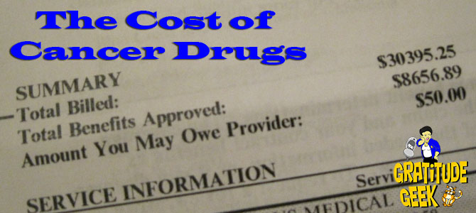 The Cost of Cancer Drugs in the US | Battling Bertha 17 | #BlogBoost
