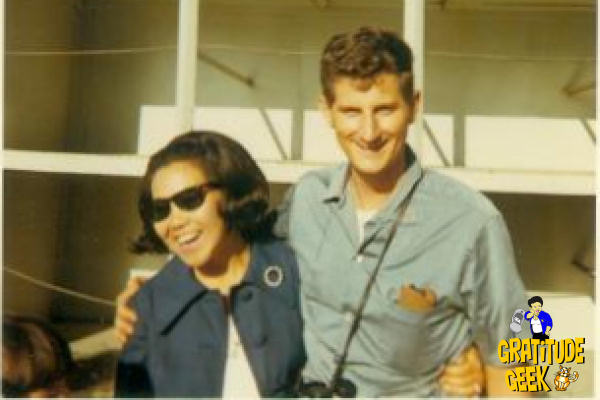 My Mom & Dad in 1970