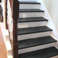 Painted wood stairs from southern hospitality blog