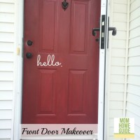 Front Door Makeover with Modern Masters
