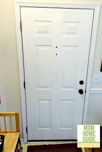 Front Door Update with Chalk Paint