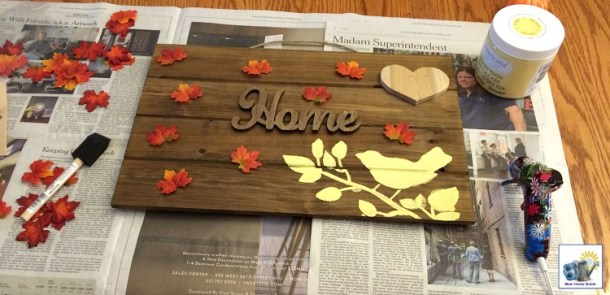 Thanksgiving pallet craft tutorial