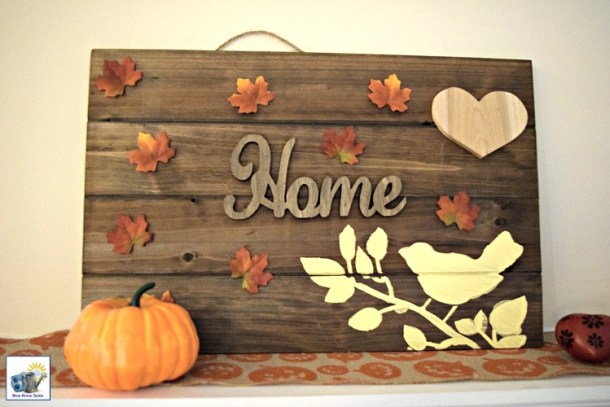 Thanksgiving pallet craft tutorial