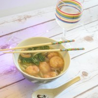 Shrimp Udon Soup & Pinor Grigio Pairing (Recipe)
