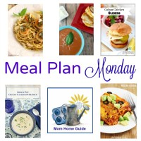Meal Plan Monday - Cheesy Cauliflower Soup and Pesto Scallops