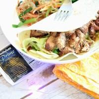 Korean Pork Tacos with Asian Cabbage Slaw (Taste Creations Blog Hop)