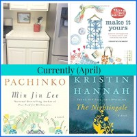 Currently -- April (Kitchen Update and Reading List)
