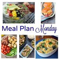 Meal Plan Monday --Chicken Caesar Bake & BLT Salad