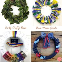 Colorful Bandana Summer Wreath