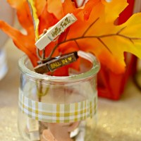 Fall Bucket List Jars - Yogurt Jar Crafts