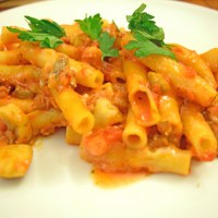 Slow Cooker Baked Ziti Recipe {Taste Creations Blog Hop}