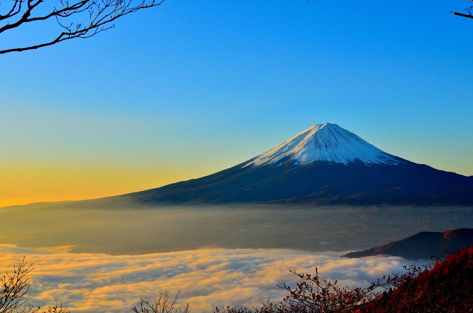 Les montagnes sacrées du Japon