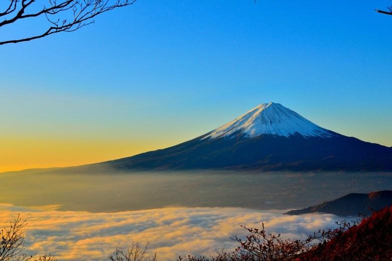 Mont Fuji, montagne sacrée au Japon