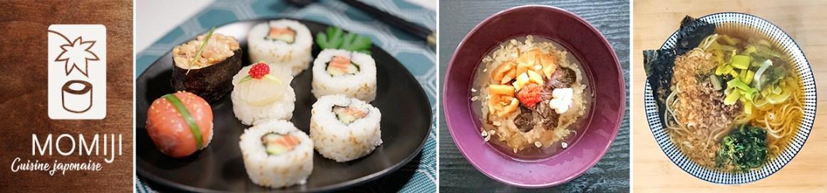cours de cuisine japonaise a domicile