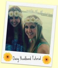 Daisy Headband Tutorial