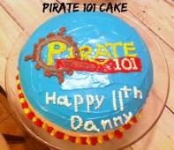 Pirate 101 Cake