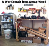 Workbench from Scrap Wood