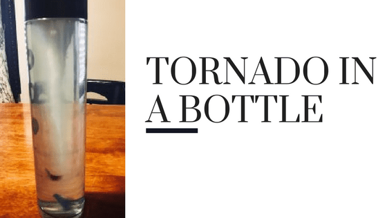 Easy Tornado In A Bottle Experiment graphic