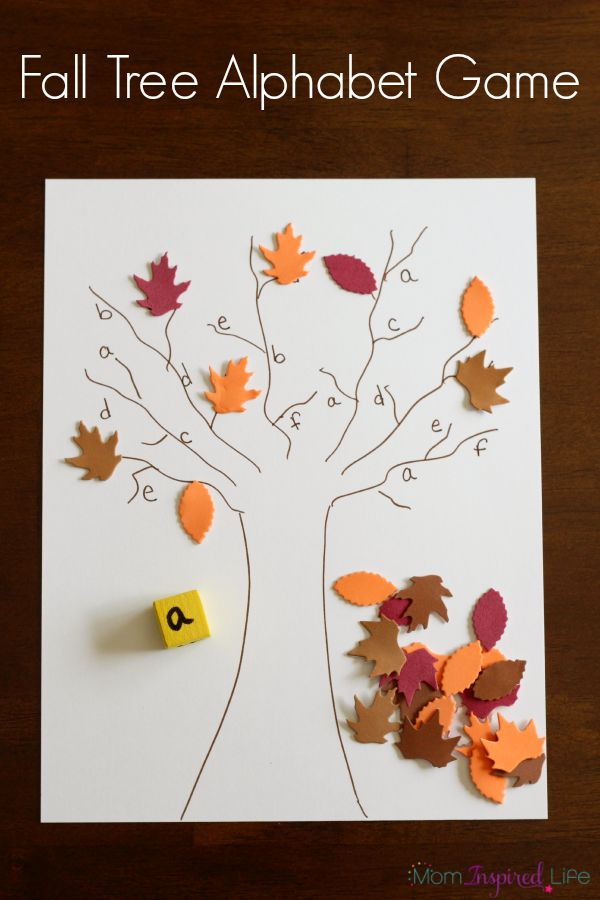 Fall Activity Calendar For Preschoolers And Toddlers