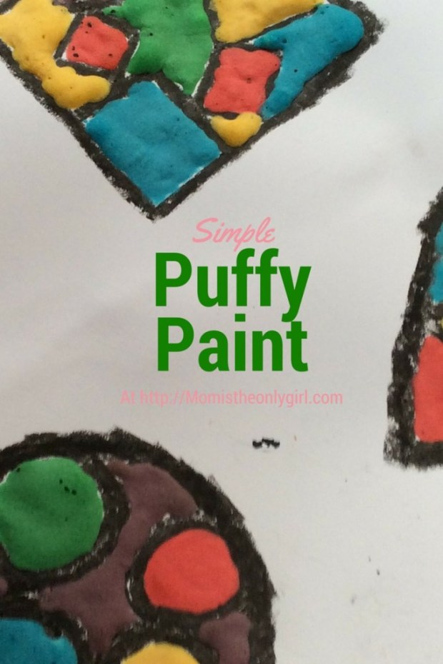 Puffy Painting