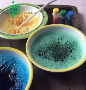 Bowls of bubbles