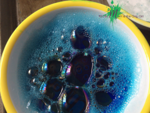 Bubbles in Bowl