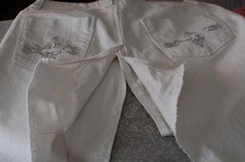 Cmo hacer una falda con un pantaln  Momitas blog