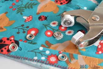botones presión metálicos