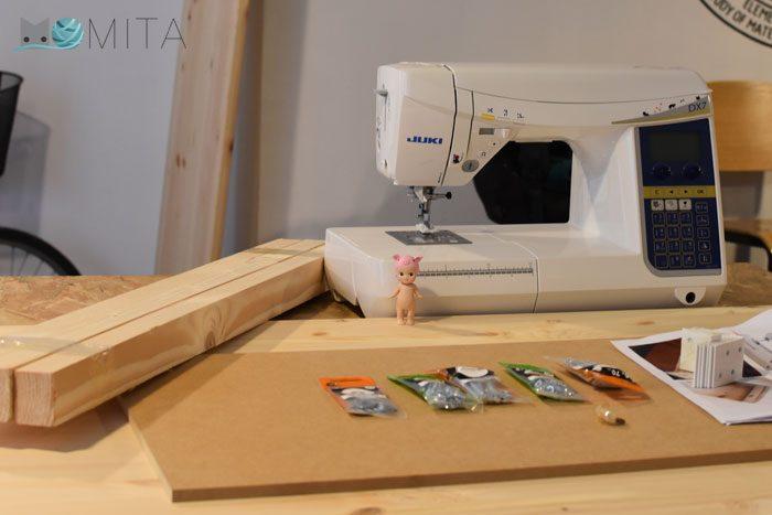 Cmo hacer una mesa para la mquina de coser  Momitas blog