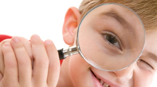 Boy And Magnifying Glass Momif Article Mom It ForwardMom