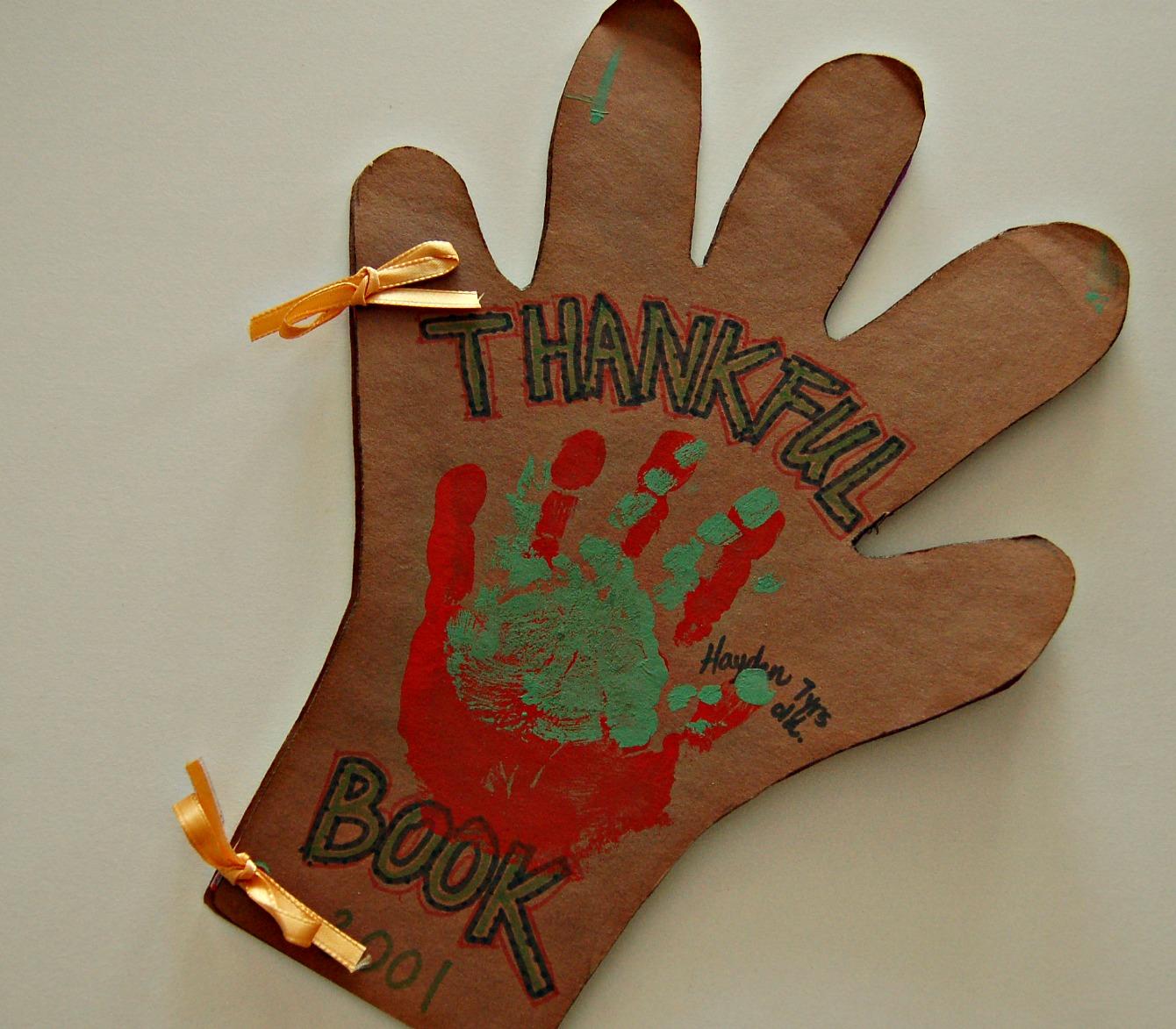 Gratefulness Thankful Hands Kid Friendly Craft Projectmom