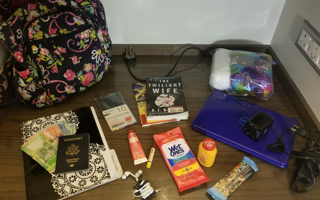 What's In My Carry On For Long Flights
