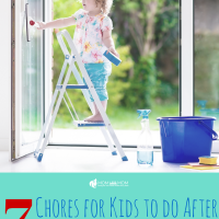 7 Chores for Kids to do After School
