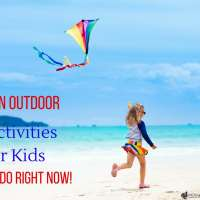 4 Fun Outdoor Activity Ideas for Kids to do Right Now!