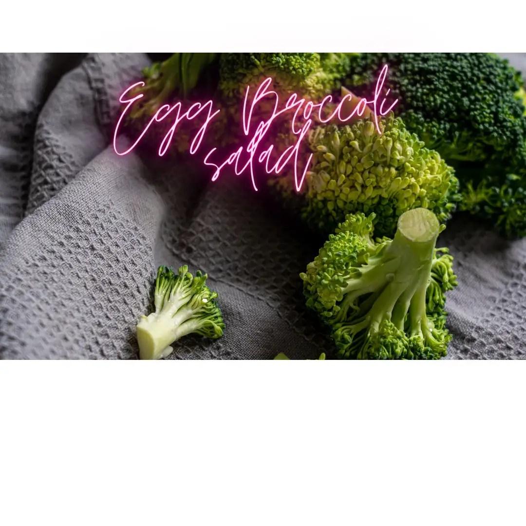 Egg Broccoli salad