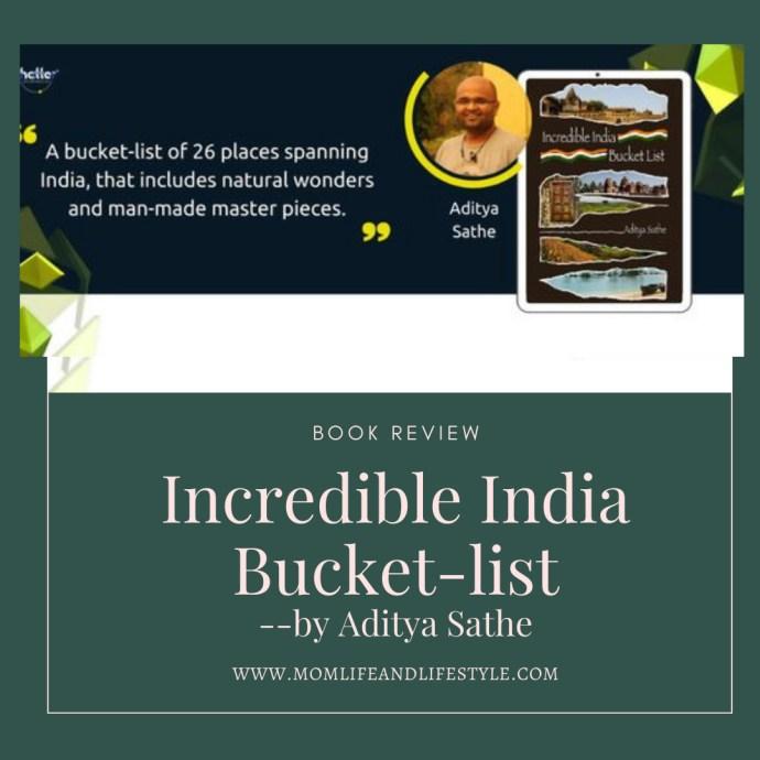 Incredible India Bucket-list.