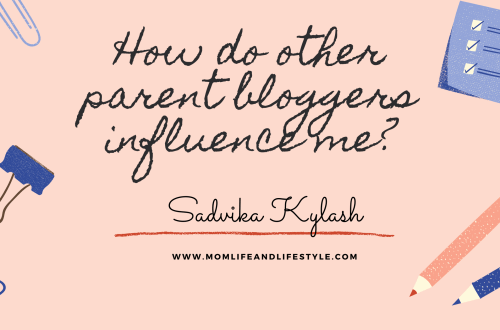 How other parent bloggers influence me.