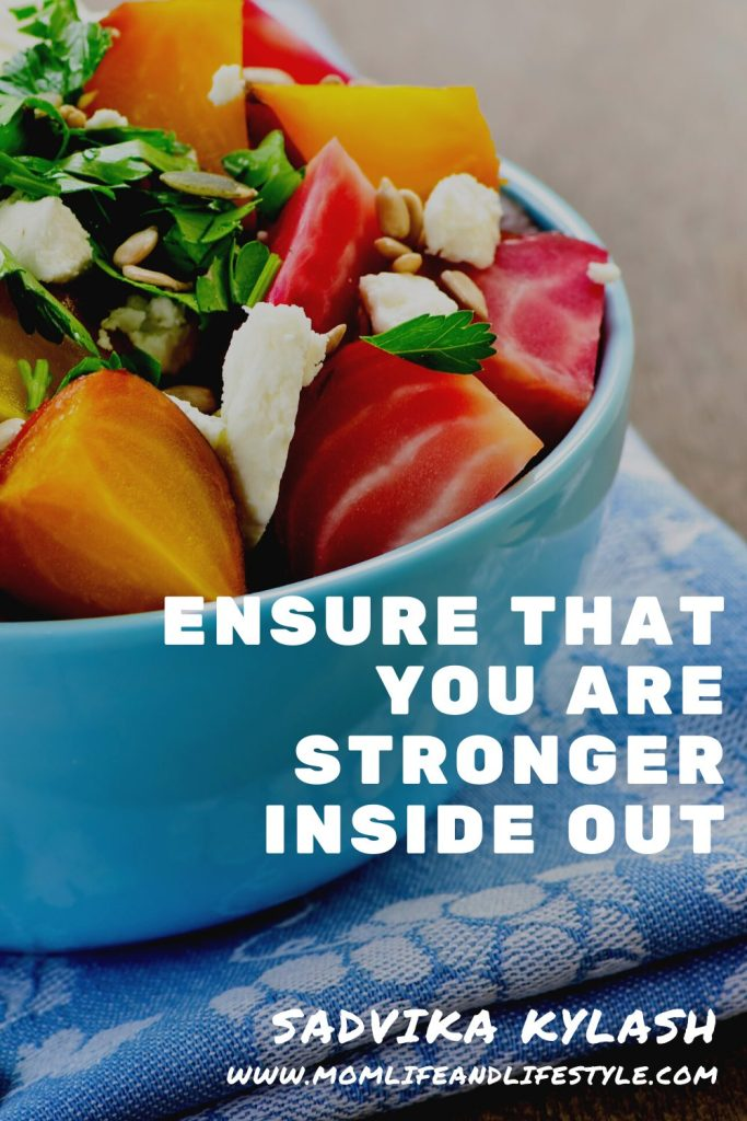 Ensure that you are stronger inside out(immunity&weak muscles)