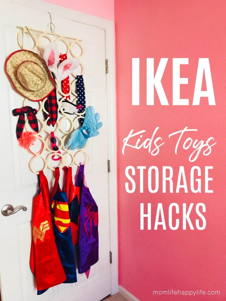 IKEA Kids Storage Playroom Hacks